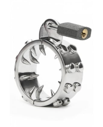 Kalis Teeth Spiked Chastity Device - Cock and Balls