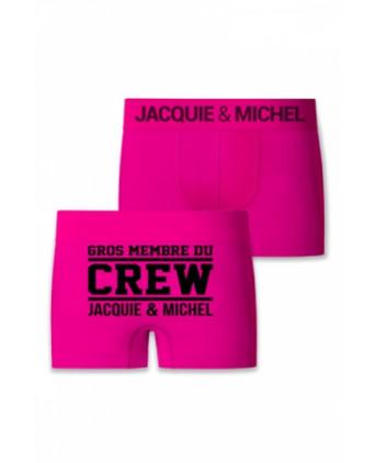 Boxer Jacquie et Michel Crew - Boxers Homme