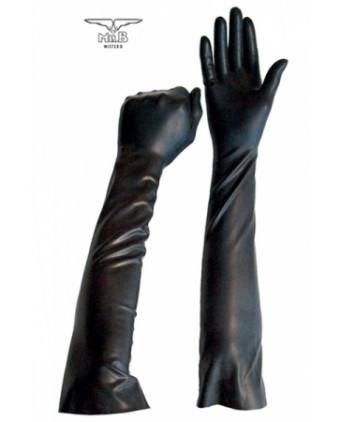 Gants longs BDSM en latex - Accessoires SM