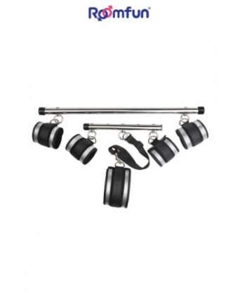 Adjustable spreader bar kit - Attaches, contraintes