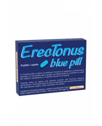 Erectonus Blue Pills - 10 gélules - Aphrodisiaques homme