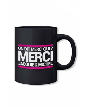 Mug noir Jacquie et Michel