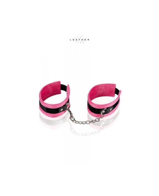 Menottes de chevilles rose et noir - Attaches, contraintes