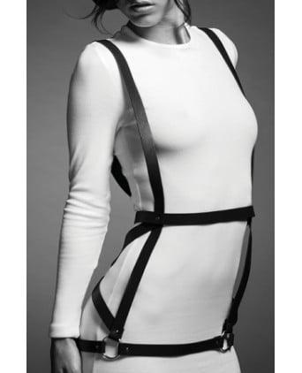 Robe harnais marron - Maze - Fetish et Glamour