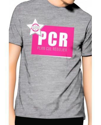 Tee-shirt Jacquie et Michel PCR - gris - T-shirts Homme