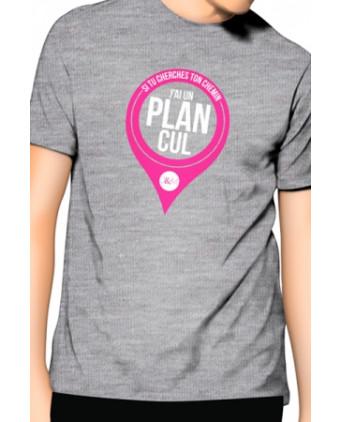 T-Shirt J&M J'ai un Plan cul - gris - T-Shirts J&M