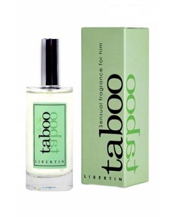 Parfum d'attirance Taboo Libertin - Aphrodisiaques homme