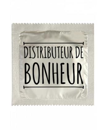 Préservatif humour - Distributeur De Bonheur - Préservatifs humoristiques