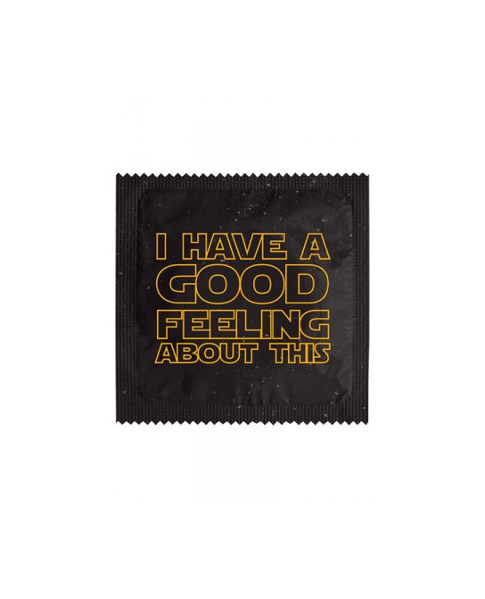 Préservatif humour - Good Feeling - Préservatifs humoristiques