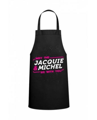 Tablier May the Jacquie et Michel be with you - Tabliers de cuisine
