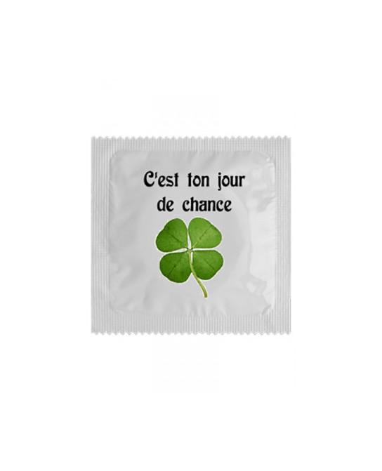 Préservatif humour - Jour De Chance - Préservatifs humoristiques