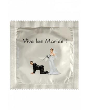 Préservatif humour - Vive Les Mariés - Préservatifs humoristiques