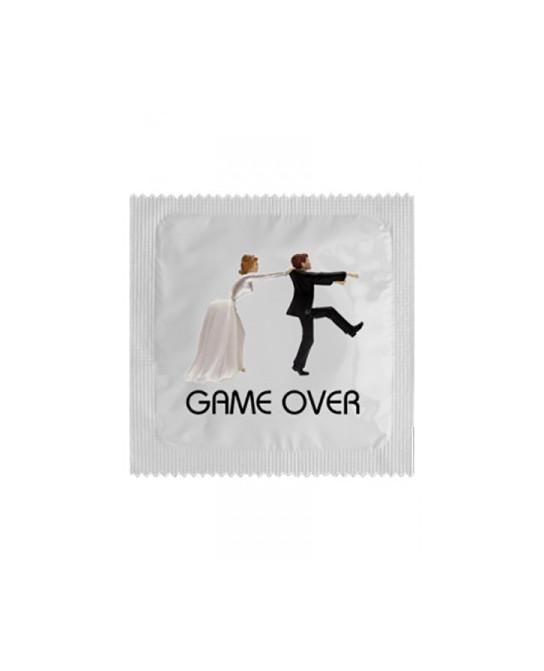 Préservatif humour - Game Over - Préservatifs humoristiques