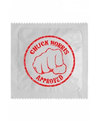 Préservatif humour - Chuck Norris - Préservatifs humoristiques