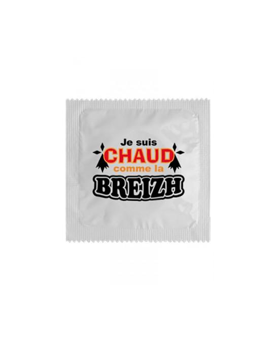 Préservatif humour - Chaud Comme La Breizh - Préservatifs humoristiques