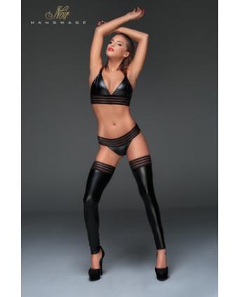 String wet look F161 - Lingerie vinyle femme