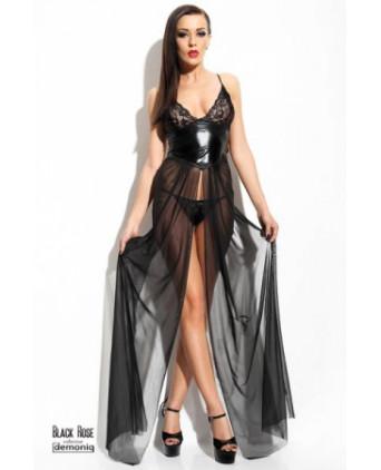 Robe Anastasia - Black Rose - Robes sexy