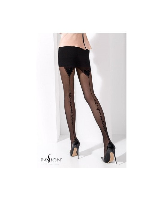 Collants couture fantaisie TI023 - Collants, bas