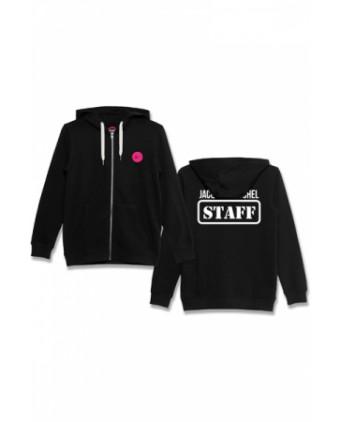 Veste à capuche J&M Staff noir - Sweats J&M