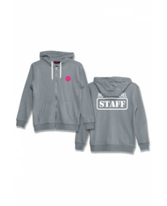 Veste à capuche J&M Staff gris - Sweats J&M