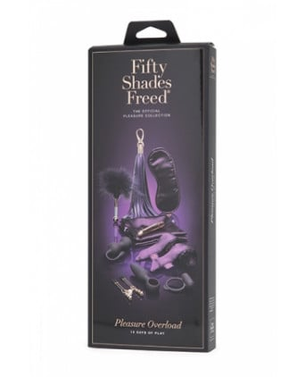 Coffret pleasure Overload - Fifty Shades Freed - Coffrets sextoys
