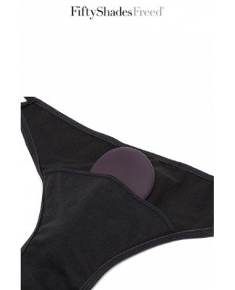 Culotte vibrante télécommandée - Fifty Shades Freed - Stimulation clitoris